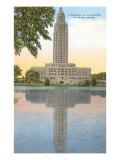 State Capitol, Baton Rouge, Louisiana Posters