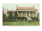 Old Plantation, New Orleans, Louisiana Poster