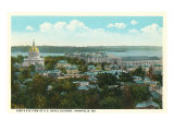 Bird's Eye View of Annapolis, Maryland Prints