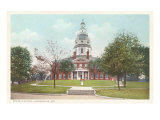State Capitol, Annapolis, Maryland Prints