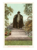 Samuel Chapin Statue, Springfield, Mass. Posters