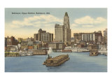 Harbor, Baltimore, Maryland Prints