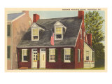 Barbara Fritchie House, Frederick, Maryland Print