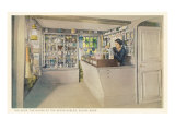 Shop in House of the Seven Gables, Salem, Massachusetts Posters
