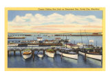 Fishing Boats, Ocean City, Maryland Prints