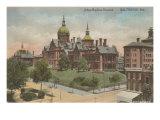 Johns Hopkins Hospital, Baltimore, Maryland Print