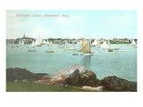 Marblehead Harbor, Marblehead, Mass. Art