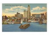 Upper Harbor, Baltimore, Maryland Prints