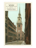 Old North Church, Paul Revere, Boston, Massachusetts Posters