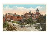 Johns Hopkins Hospital, Baltimore, Maryland Posters