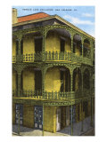 Balcony Grillwork, New Orleans, Louisiana Poster