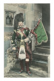 Black Watch Bagpiper Prints