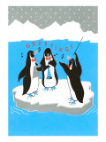Greetings, Penguins Ensemble Gicleetryck