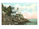 Bass Harbor Head Lighthouse, Maine Poster