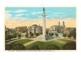 Lee Circle, New Orleans, Louisiana Poster