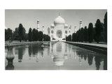 The Taj Mahal, Agra, India Art