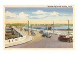 South Portland Bridge, Portland, Maine Posters