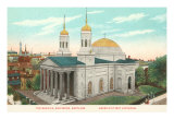 Cathedral, Baltimore, Maryland Prints
