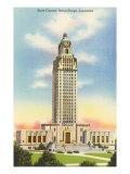 Baton Rouge State Capitol, Louisiana Art Print