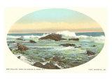 Surf, Scarboro, Maine Prints