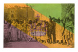 Flag of Joy, Mardi Gras, New Orleans, Louisiana Prints