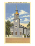 First Parish Church, Portland, Maine Posters