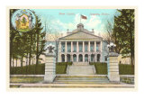 State Capitol, Augusta, Maine Poster