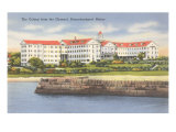 The Colony, Kennebunkport, Maine Prints