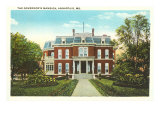 Governor's Mansion, Annapolis, Maryland Prints