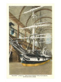 Interior, Whaling Museum, New Bedford, Mass. Posters