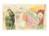 Map of Bolivia Print