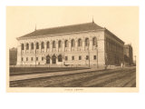 Public Library, Boston, Mass. Posters