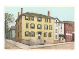 Longfellow's Birthplace, Portland, Maine Art