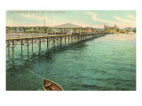 Pier, Old Orchard Beach, Maine Poster