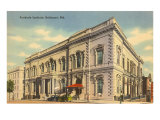 Peabody Institute, Baltimore, Maryland Posters