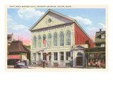 East India Marine Hall, Peabody Museum, Salem, Mass. Posters