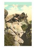 Dan's Rock, Cumberland, Maryland Poster