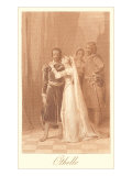 Scene from Othello Art Print