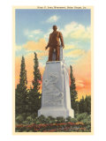 Huey P. Long Monument, Baton Rouge, Louisiana, Giclee  Print
