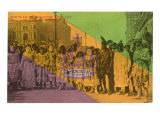 Flag of Joy, Mardi Gras, New Orleans, Louisiana Print