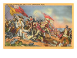 Battle of Bunker Hill Painting Posters