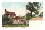 Walt Whitman House, Huntington, Long Island, New York, Art Print