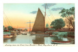 Boats, Bay Shore, Long Island, New York Prints