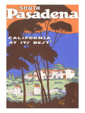 Poster for South Pasadena, California Posters