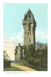 Wallace Monument, Stirling, Scotland Posters