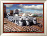 New York Central's 20th Century Limited Plakat af Larry Grossman