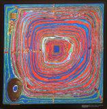 Le grand chemin|The Big Way Affiches par Friedensreich Hundertwasser