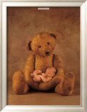 Campbell with Bear Poster par Anne Geddes