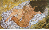 Embrace, 1917 Print by Egon Schiele