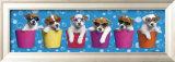 Shady Pups Posters av Keith Kimberlin